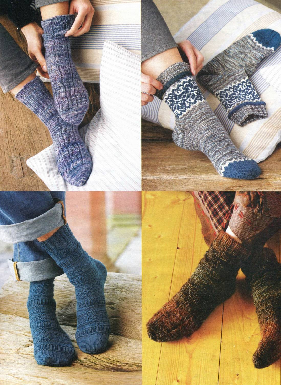 Вязание носков мастер класс фото